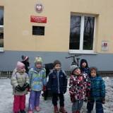 Wizyta przedszkolaków w szkole, luty 2015