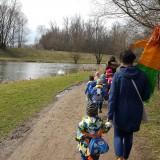 Spacer z marzanną po parku skawińskim, powitanie wiosny