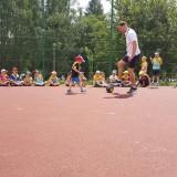 Dzień Sportu w parku w Mistrzejowicach
