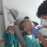Wizyta w gabinecie stomatologicznym, maj 2018