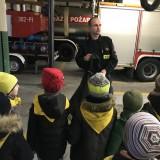 Bajkowa Kraina z wizytą w Straży Pożarnej i zajęcia Bezpieczny Dom, listopad 2019